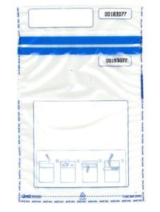 Security Bag Transparant Medium (A5) of Hoefon Security Seals