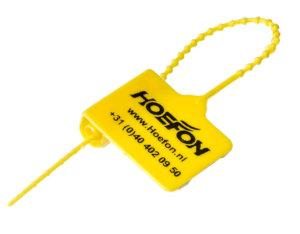 Plastic Mini Seal Yellow by Hoefon Security Seals